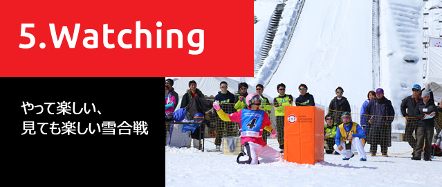 やって楽しい、見ても楽しい「スポーツ雪合戦®」